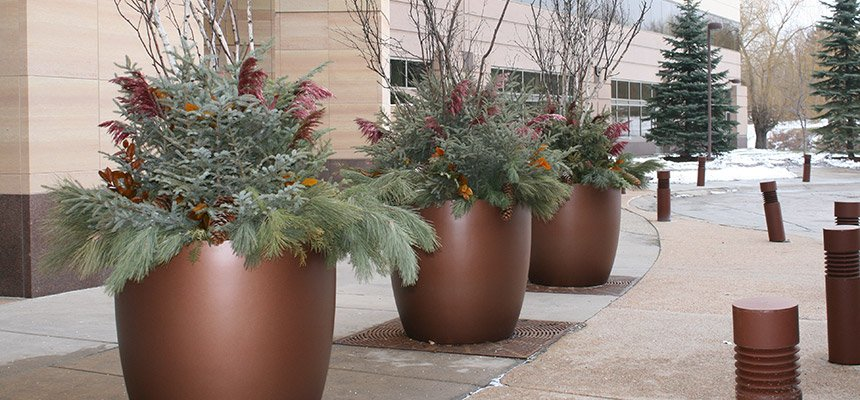 Minneapolis Seasonal Exterior Containers